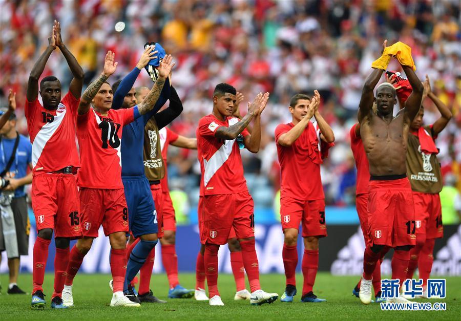 C组:秘鲁队胜澳大利亚队