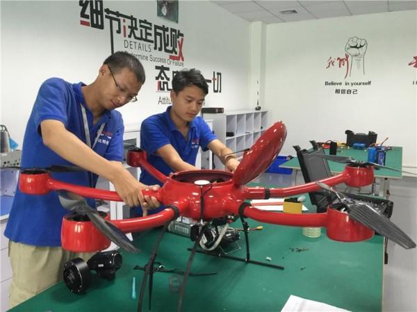 """工业无人机产业蓄势待""""飞"""""""
