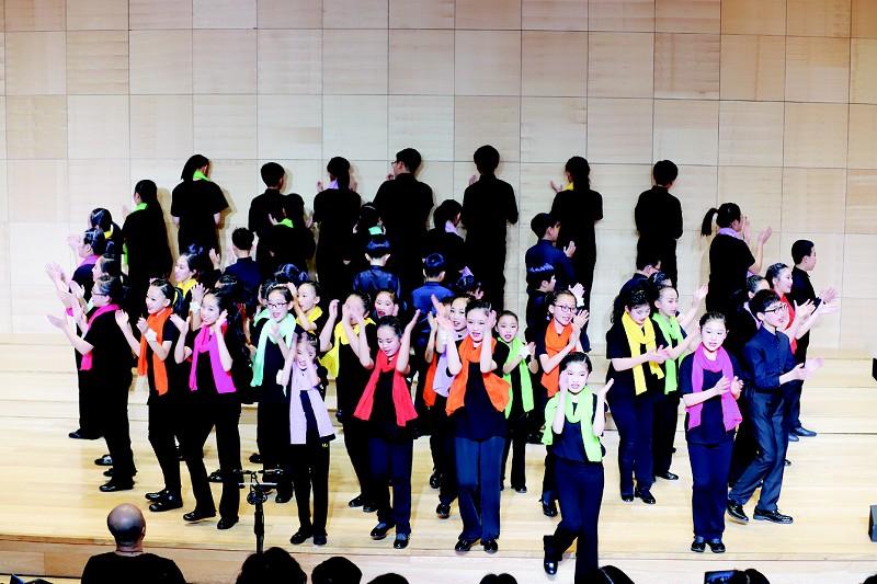 大连市童声合唱团再度唱响新春。(受访者供图)</p><p>