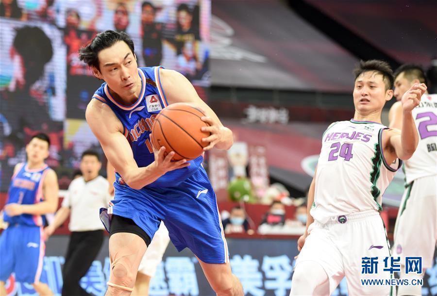(体育)(9)篮球——CBA复赛第一阶段:山东西王胜四川五粮金樽