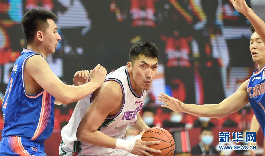 (体育)(1)篮球——CBA复赛第一阶段:山东西王胜四川五粮金樽