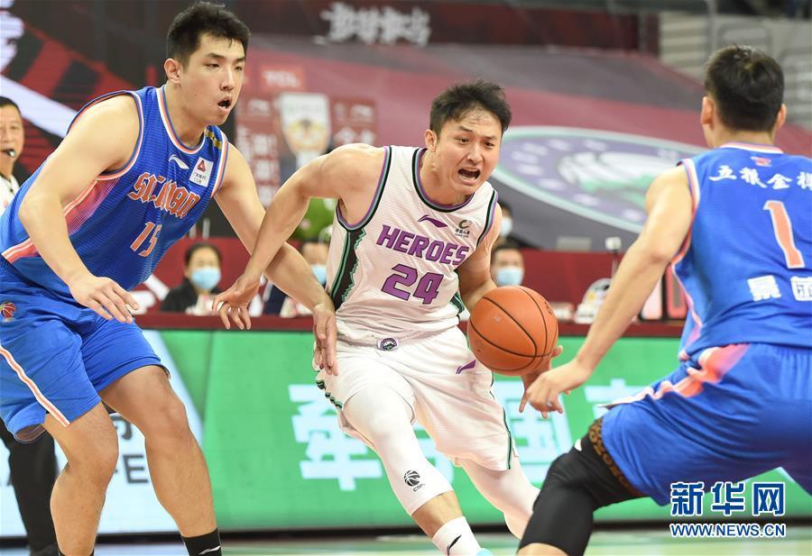 (体育)(14)篮球——CBA复赛第一阶段:山东西王胜四川五粮金樽